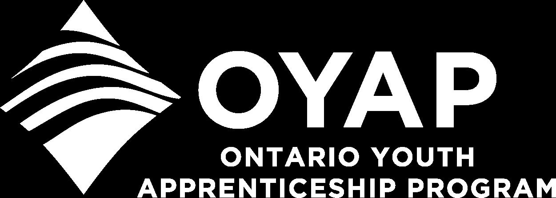 OYAP Logo in White